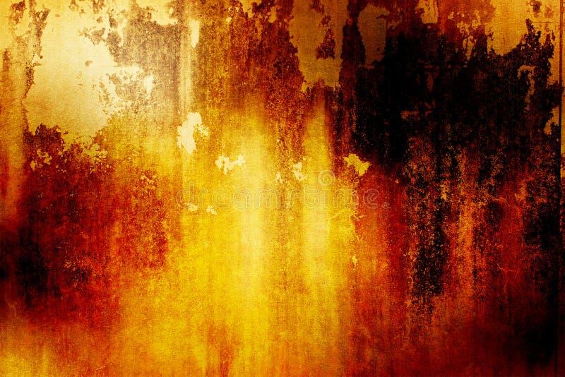 Fond grunge orange image libre de droits