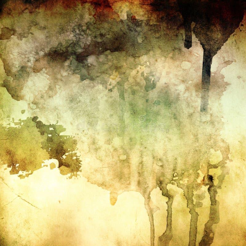 Fond grunge peint par abstrait illustration de vecteur