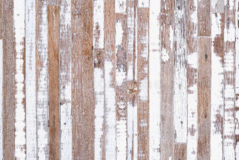Fond grunge. Peintures blanches sur fond de bois ancien. Vieux fond en bois rustique. R?tro fond de cru image stock
