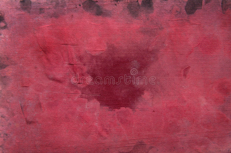 Fond grunge rouge photo stock