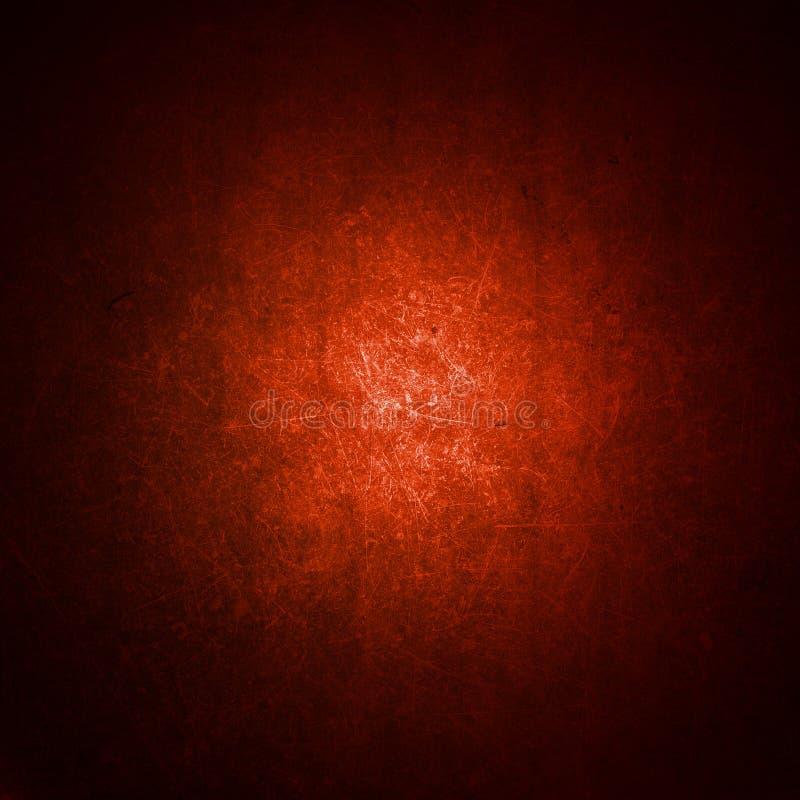 Fond grunge rouge illustration de vecteur