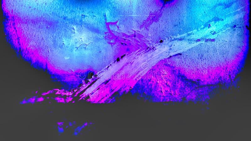 Fond grunge sale bleu et pourpre noir de texture photo libre de droits