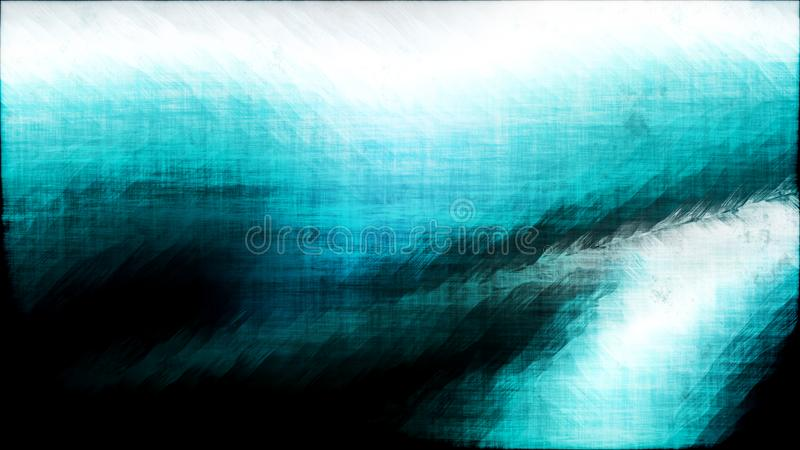 Fond grunge sale noir et blanc de texture de turquoise de résumé illustration stock
