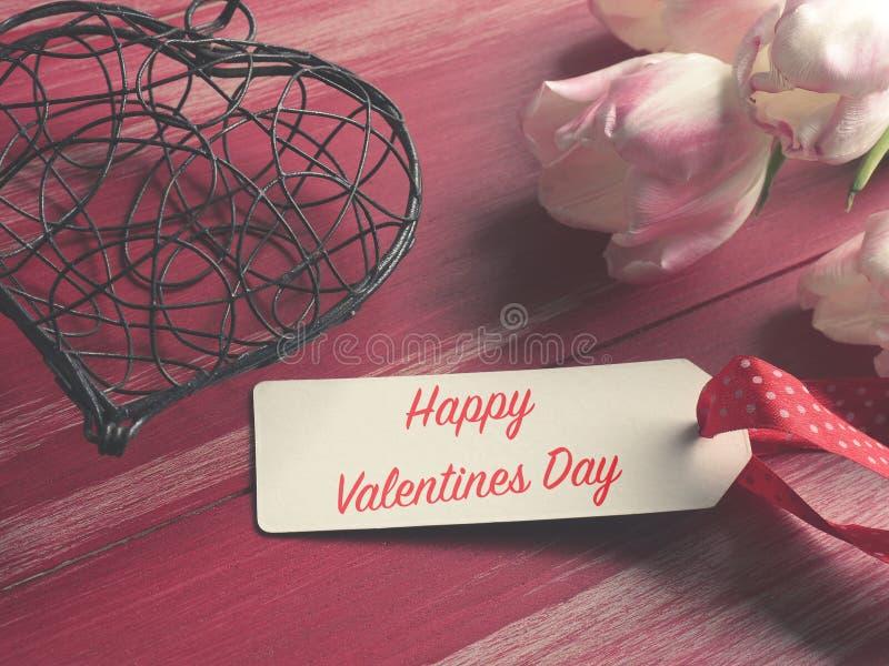 Fond heureux de concept de jour de valentines images stock