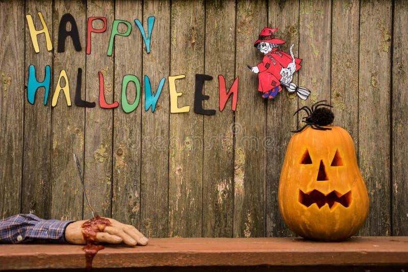 Fond heureux de Halloween photographie stock libre de droits
