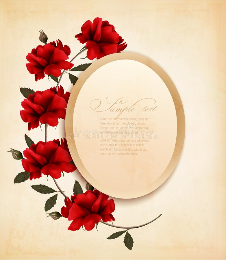 Fond heureux de Saint-Valentin illustration libre de droits