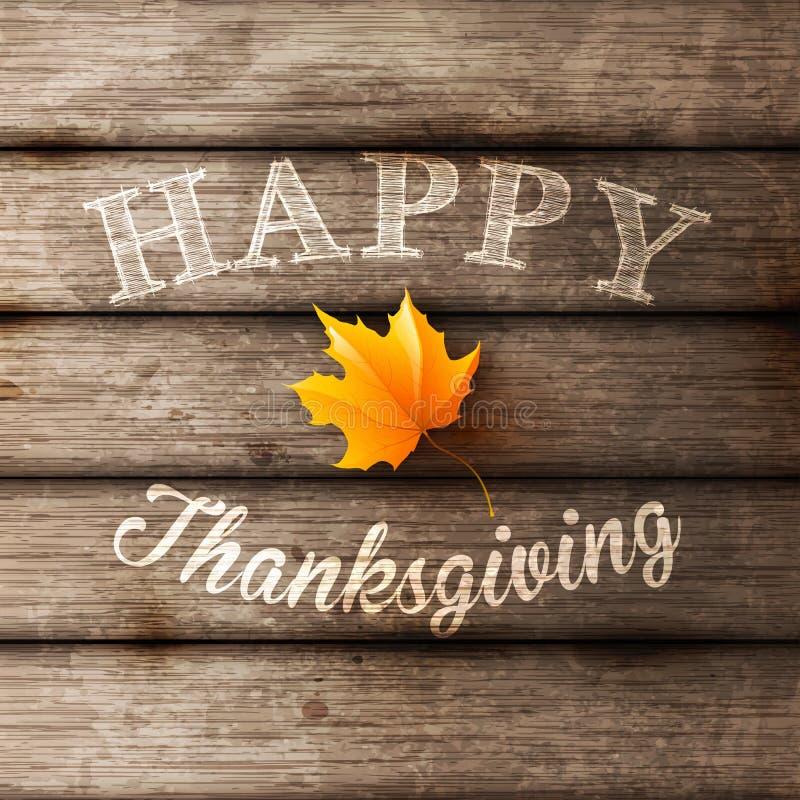 Fond heureux de thanksgiving illustration stock