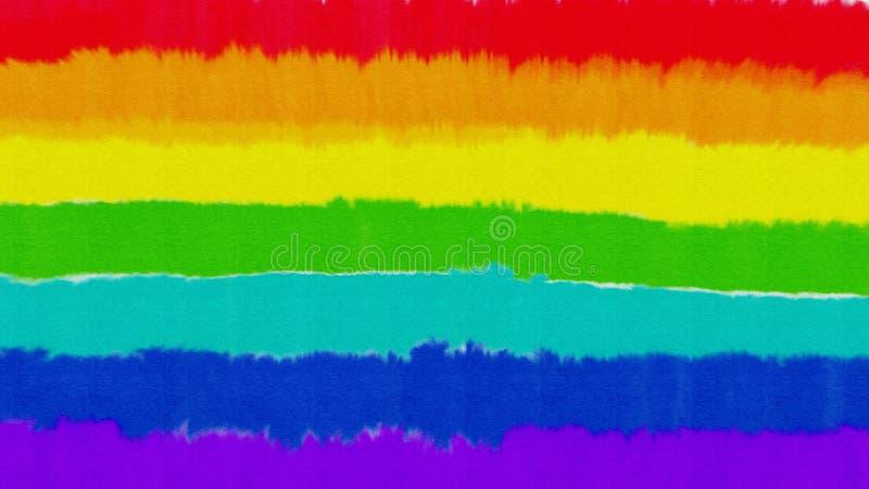 Fond humide de peinture d'aquarelle d'arc-en-ciel photos libres de droits