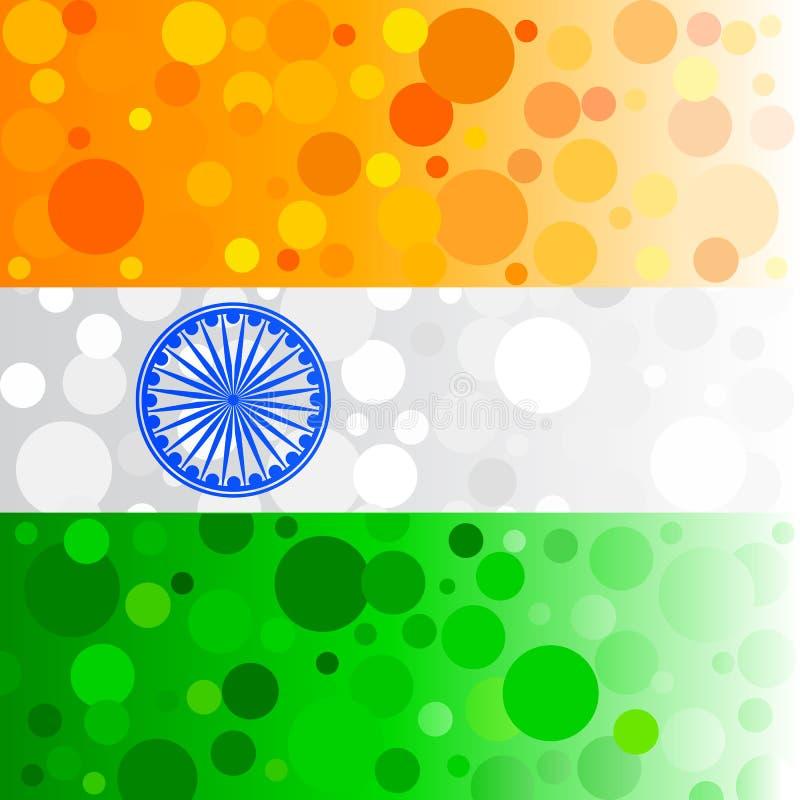 Fond indien pétillant illustration de vecteur