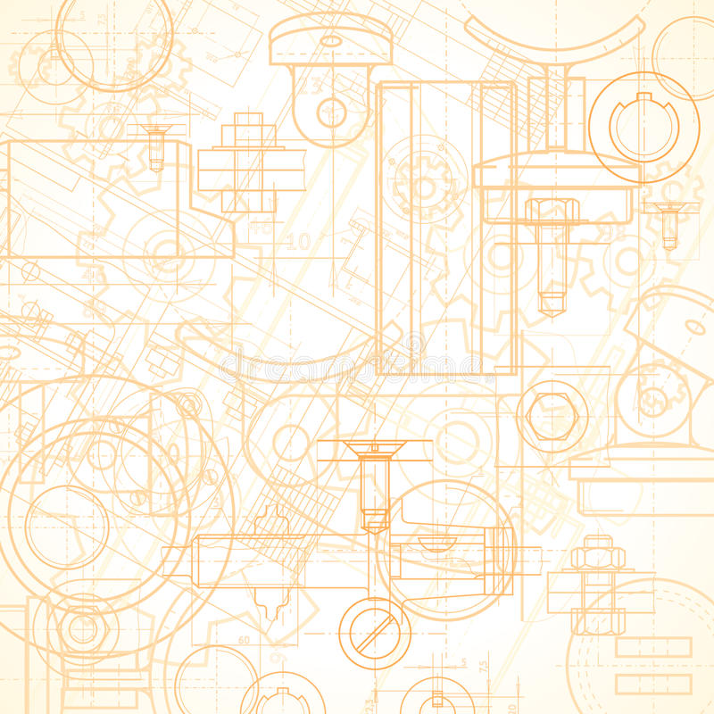 Fond industriel illustration de vecteur