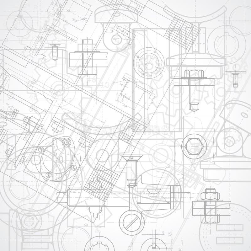 Fond industriel illustration libre de droits