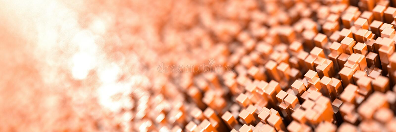Fond infini de cubes illustration de vecteur