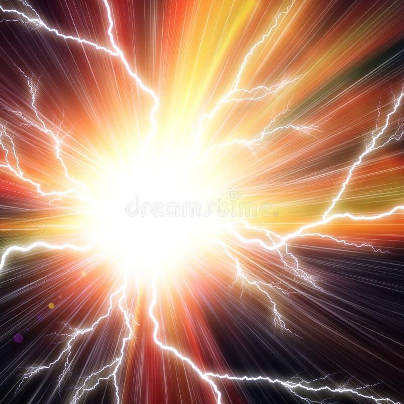 Fond instantané électrique illustration de vecteur