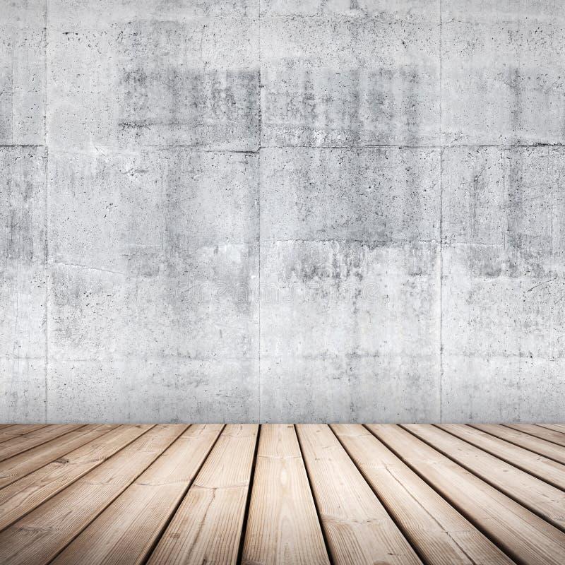 Fond intérieur concret vide photo stock