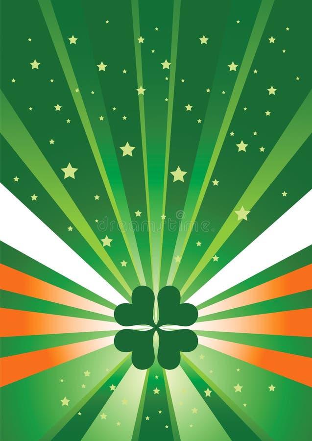 Fond irlandais illustration stock