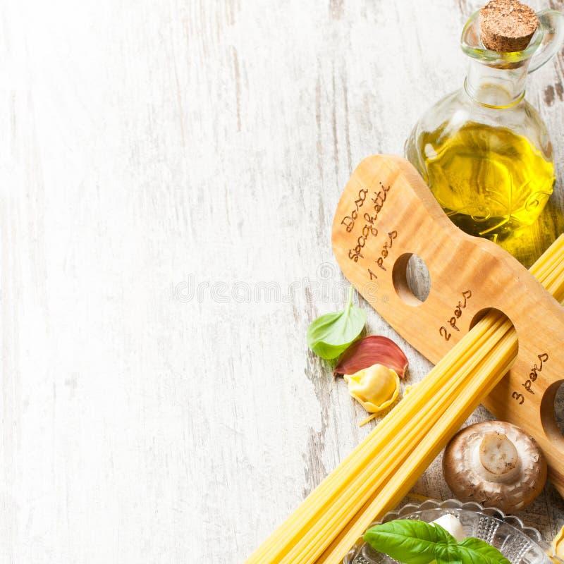 Fond italien de nourriture image libre de droits