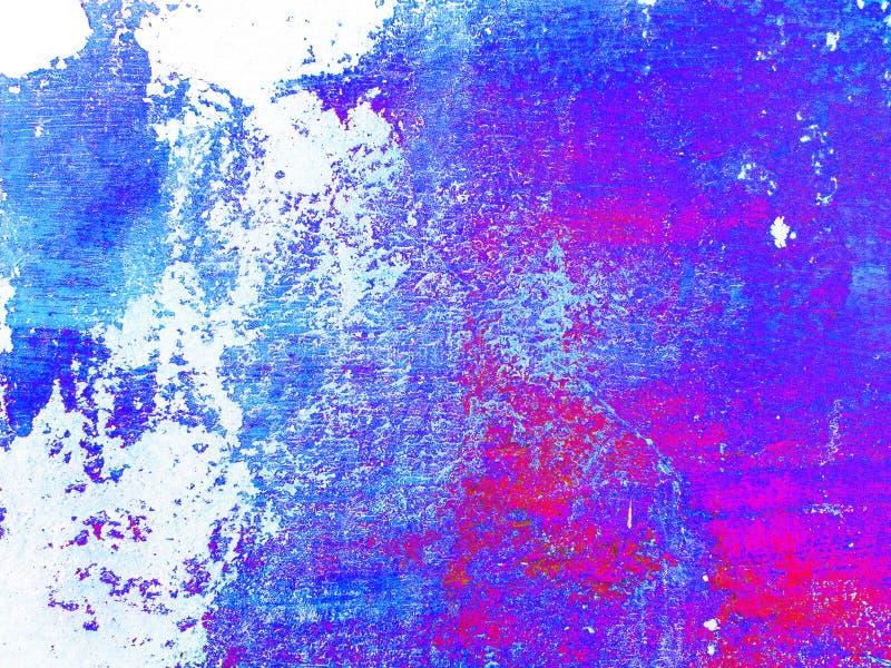 Fond italien multicolore de stuc de r?sum? Texture color?e sur le fond blanc photographie stock