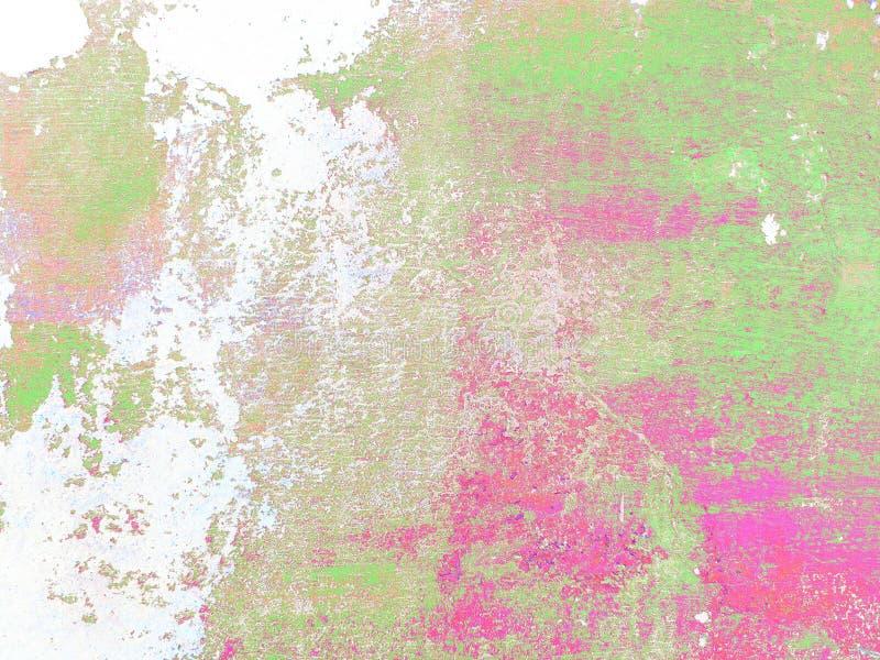 Fond italien multicolore de stuc de r?sum? Texture color?e sur le fond blanc photographie stock libre de droits