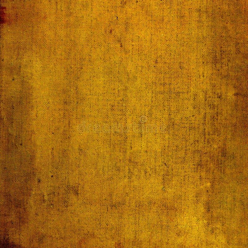 Fond jaune âgé image stock