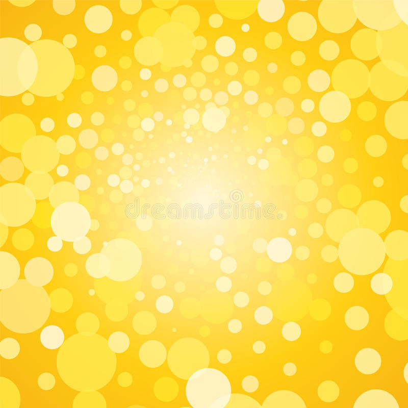 Fond jaune abstrait illustration stock