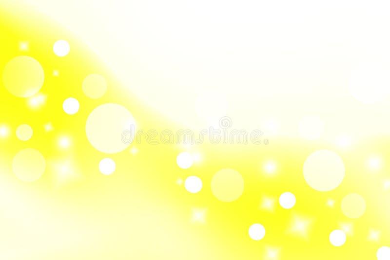 Fond jaune abstrait Fond chaud de ton de couleur Concept image libre de droits