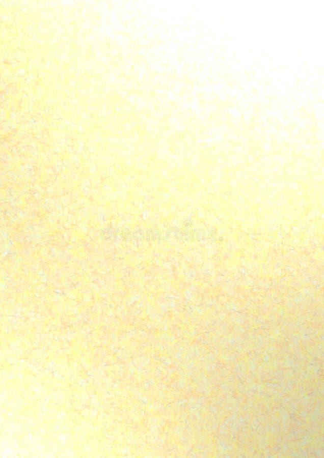 fond jaune-clair illustration de vecteur