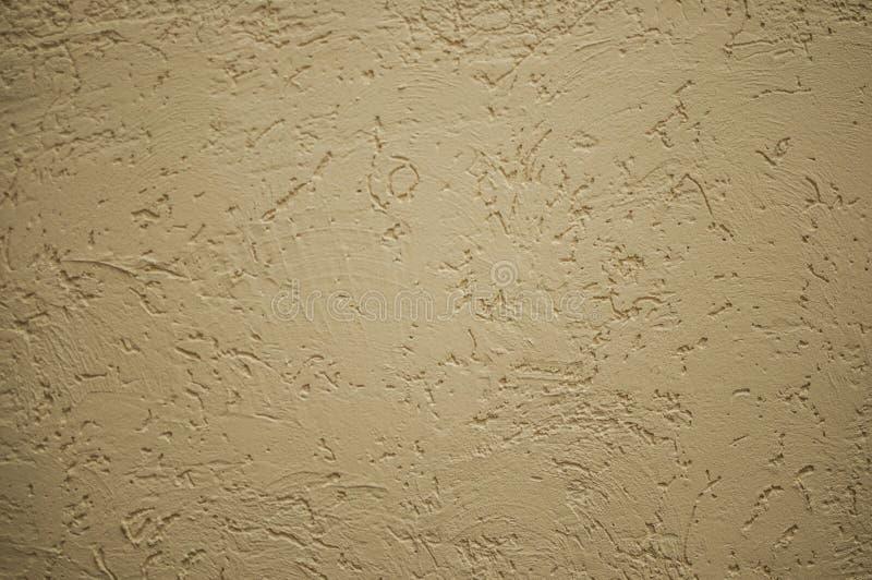 Fond jaune de mur en b?ton photos libres de droits
