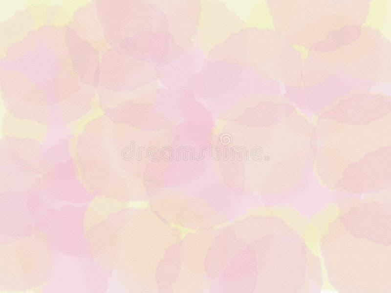 fond jaune et rose abstrait Illustration de trame photographie stock libre de droits