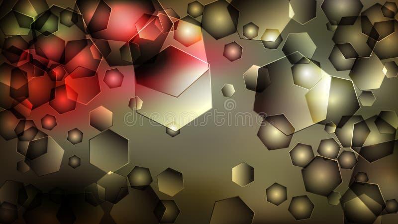 Fond ?l?gant de conception de l'industrie graphique d'illustration d'Art Background Beautiful de fractale de conception de mod?le illustration de vecteur