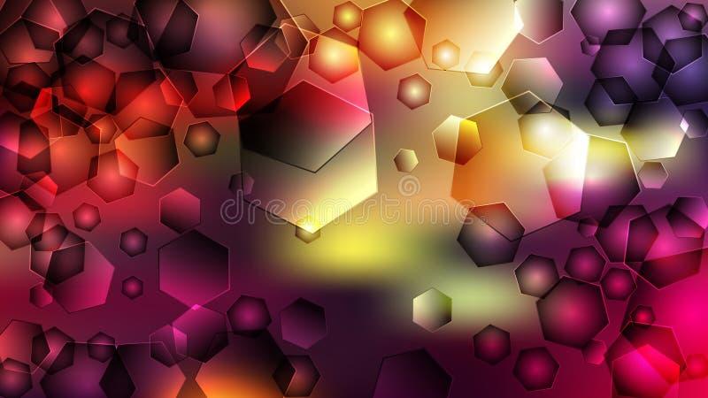 Fond ?l?gant pourpre de conception de l'industrie graphique d'illustration de Violet Pattern Background Beautiful illustration libre de droits