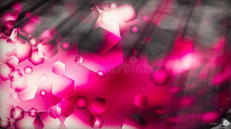 Fond ?l?gant rouge de conception de l'industrie graphique d'illustration de pourpre de rose beau illustration libre de droits