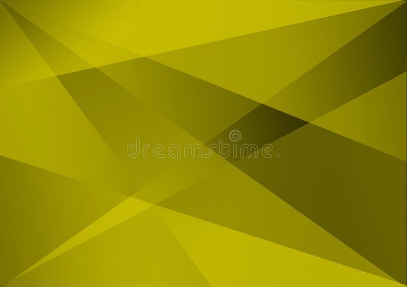 Fond linéaire vert de gradient de fond de forme images stock