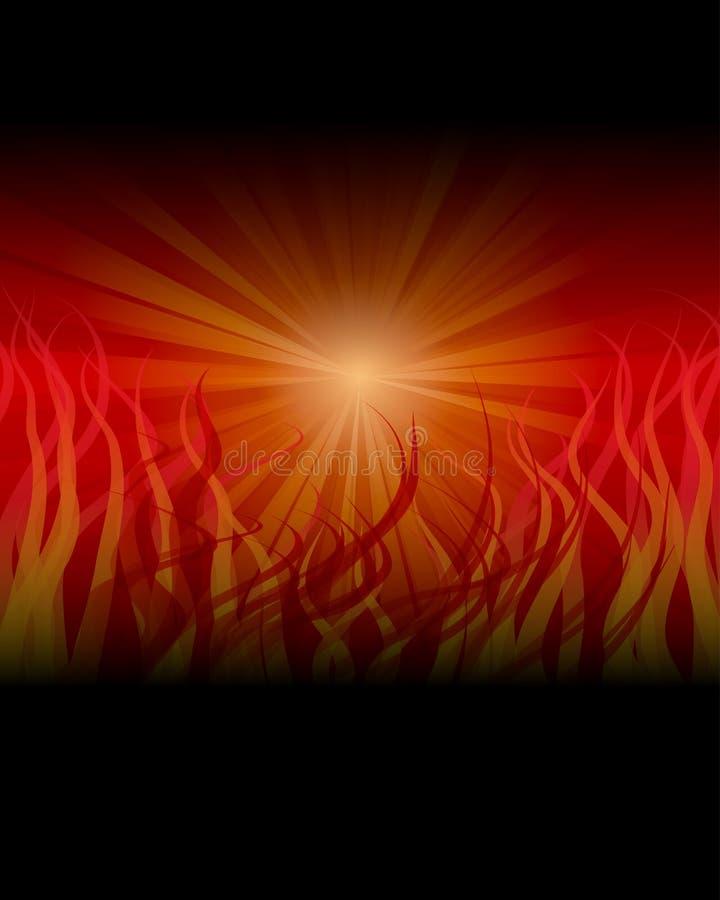 Fond lumineux abstrait illustration stock