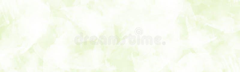 Fond lumineux abstrait de bannière avec la conception artistique de peinture illustration de vecteur