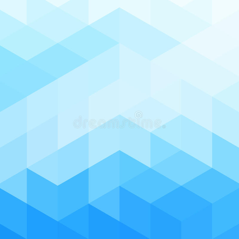 Fond lumineux abstrait (mosaïque de vecteur) image libre de droits