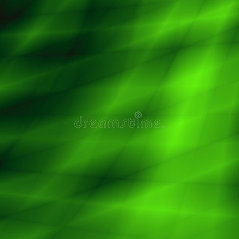 Fond lumineux abstrait vert élégant illustration libre de droits