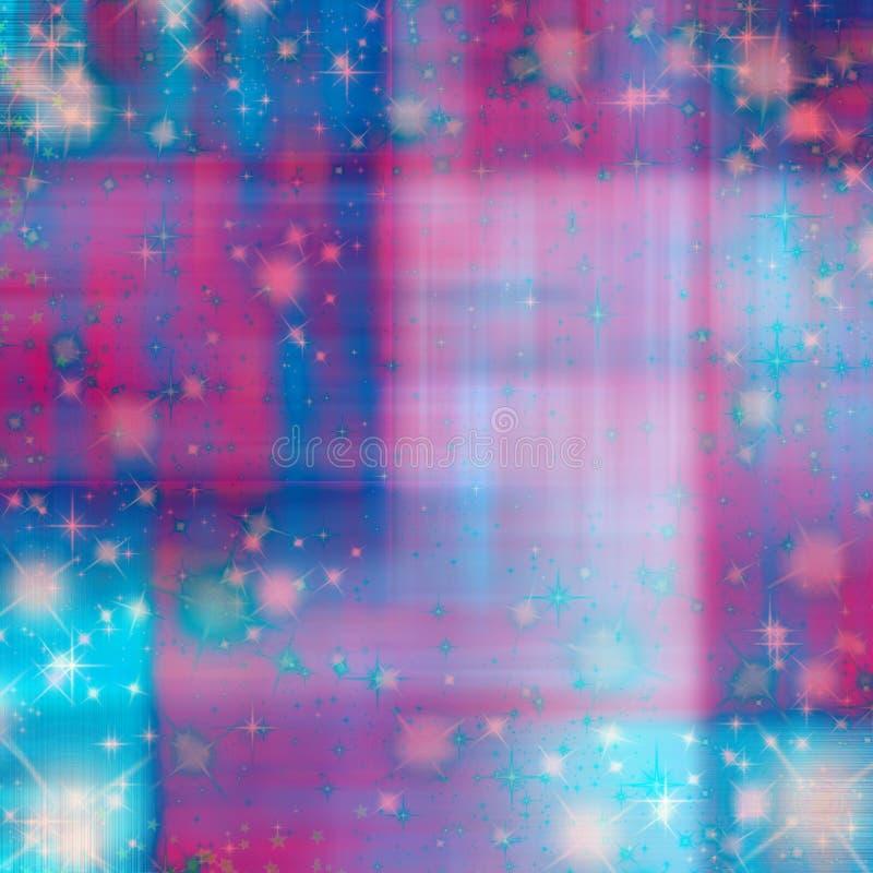 Fond lumineux d'étincelle d'encre d'aquarelle pour scrapbooking et métier ou art illustration de vecteur