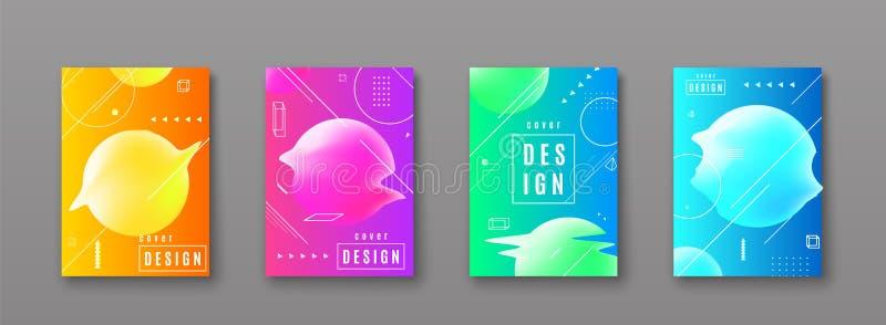 Fond lumineux de modèle d'abrégé sur couleur avec la ligne texture de gradient illustration stock