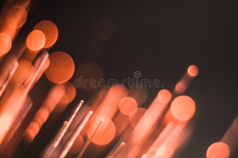 Fond lumineux et coloré de concept de fibre de verre images stock