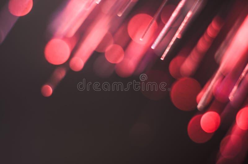 Fond lumineux et coloré de concept de fibre de verre image libre de droits