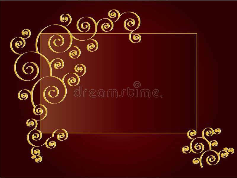 Fond luxueux de rouge de vin illustration libre de droits