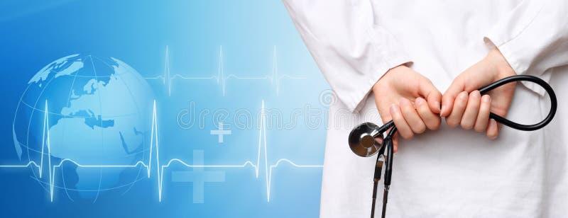 Fond médical image stock
