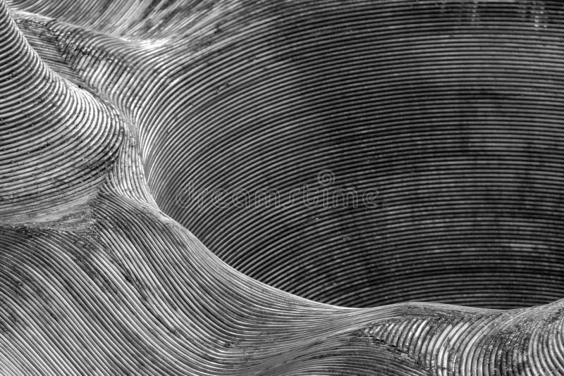 Fond métallique abstrait image stock