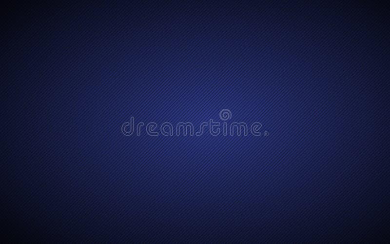 Fond métallique abstrait bleu-foncé avec les lignes inclinées illustration libre de droits