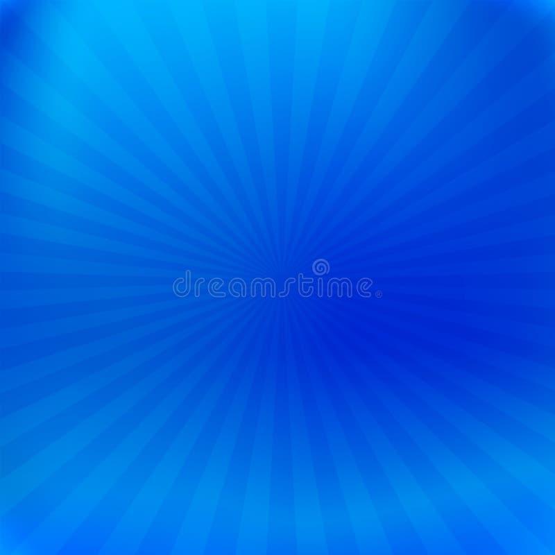 Fond métallique bleu de texture d'aluminium avec des faisceaux illustration libre de droits