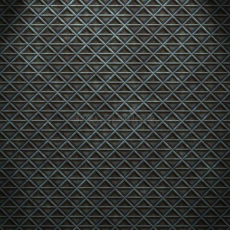 Fond métallique foncé de texture photo stock