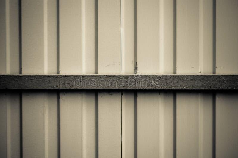 Fond métallique Panneaux en acier peints images stock
