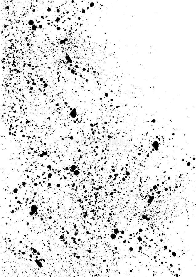 Fond malpropre de la poussière grunge illustration libre de droits