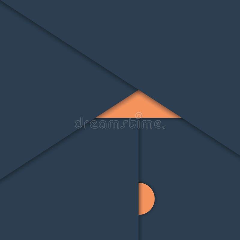 Fond matériel de vecteur d'abrégé sur conception moderne illustration stock