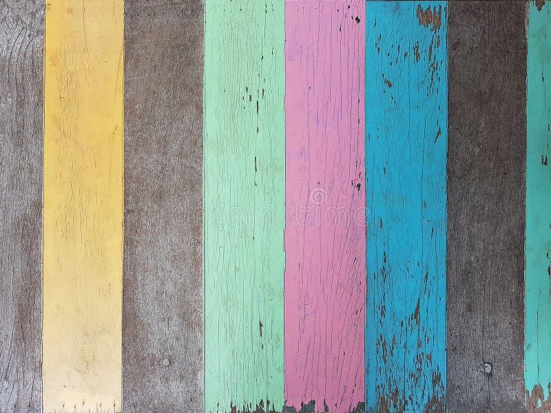Fond matériel en bois de résumé créatif pour le papier peint décoratif de cru photographie stock libre de droits